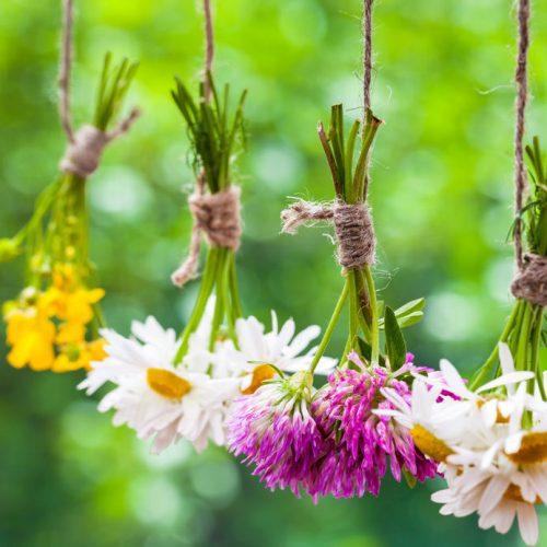 野の花の束