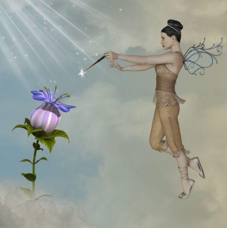 幻想の花と妖精
