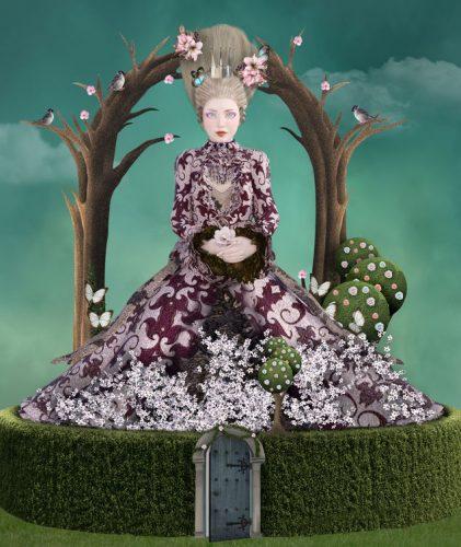 幻想的な世界の女王