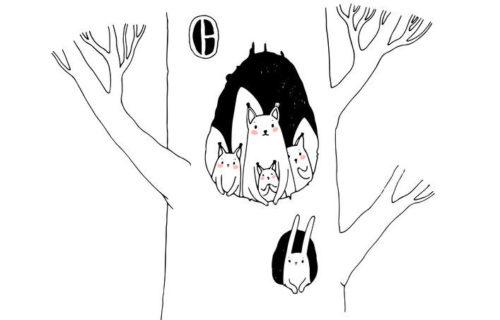 森にすむ妖精